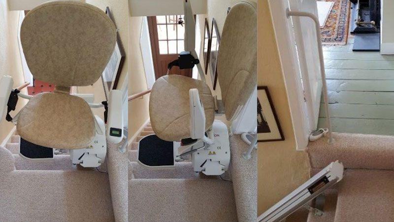 Narrow Stairlift Installation