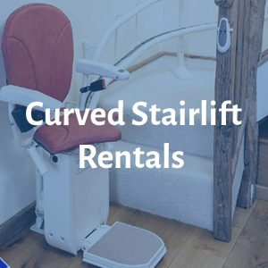 Curved Stairlift Rentals