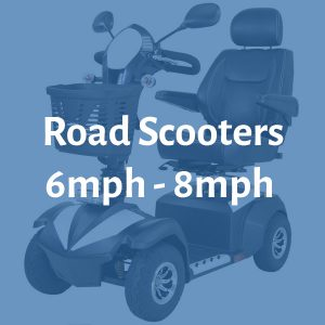 Road Scooters 6mph to 8mph